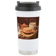 Van Gogh Still Life w Hat Travel Mug