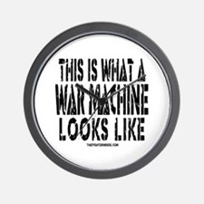 This is What A War Machine Lo Wall Clock