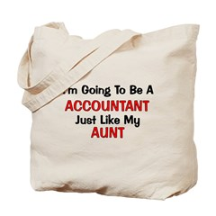 Accountant Aunt Profession Tote Bag