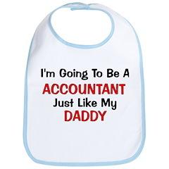 Accountant Daddy Profession Bib