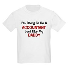 Accountant Daddy Profession T-Shirt