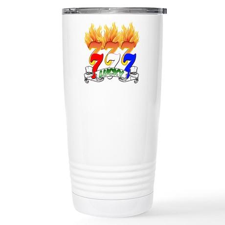 Lucky Sevens Stainless Steel Travel Mug