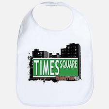 TIMES SQUARE, MANHATTAN, NYC Bib