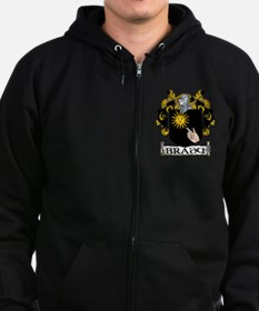 Brady Coat of Arms Zip Hoody
