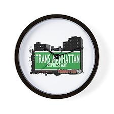 TRANS MANHATTAN EXPRESSWAY, MANHATTAN, NYC Wall Cl