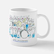 Band Cats Mug