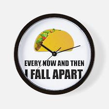 Fall Apart Taco Wall Clock
