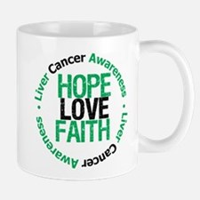 LiverCancer HopeLoveFaith Mug