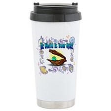 The World is your Oyster Travel Mug