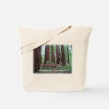 Unique Redwoods california Tote Bag