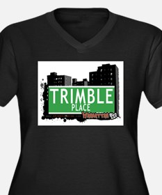 TRIMBLE PLACE, MANHATTAN, NYC Women's Plus Size V-