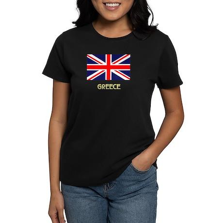 Wrong Greece UK Women's Dark T-Shirt