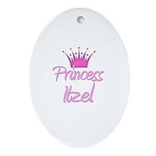 Princess Itzel Oval Ornament