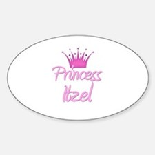 Princess Itzel Oval Decal