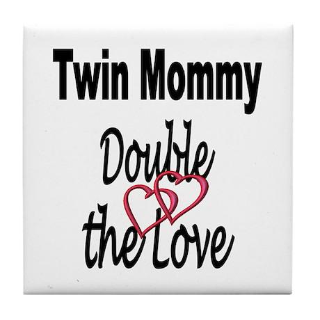 Double the Love Tile Coaster