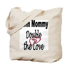 Double the Love Tote Bag