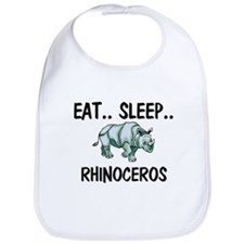 Eat ... Sleep ... RHINOCEROS Bib