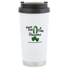 Glaucoma Fight For A Cure Travel Mug