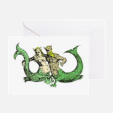 Mermaid & Merman Greeting Card