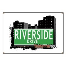 RIVERSIDE DRIVE, MANHATTAN, NYC Banner