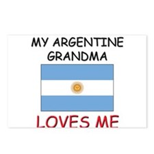 My Argentine Grandma Loves Me Postcards (Package o