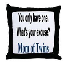What's Your Excuse? Throw Pillow