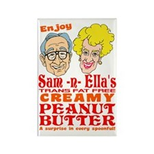 Sam-n-Ella's Peanut Butter Rectangle Magnet