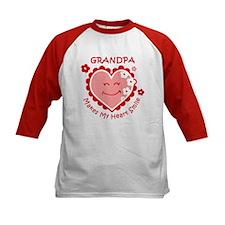 Heart Smile Grandpa Tee