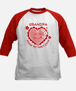 Heart Smile Grandpa Tee
