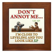 Don't Annoy... Framed Tile