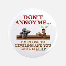 "Don't Annoy... 3.5"" Button"