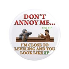"""Don't Annoy... 3.5"""" Button (100 pack)"""