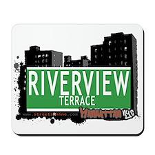 RIVERVIEW TERRACE, MANHATTAN, NYC Mousepad