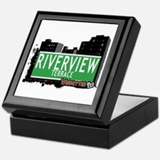 RIVERVIEW TERRACE, MANHATTAN, NYC Keepsake Box