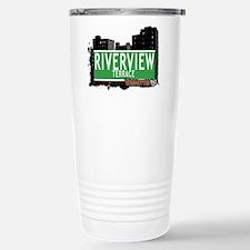 RIVERVIEW TERRACE, MANHATTAN, NYC Travel Mug