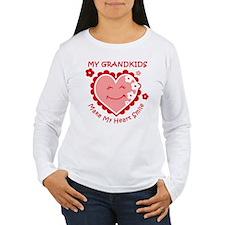 Heart Smile Grandkids T-Shirt