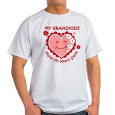 Heart Smile Grandkids T-Shirt