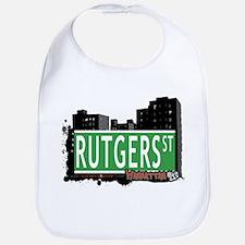 RUTGERS STREET, MANHATTAN, NYC Bib