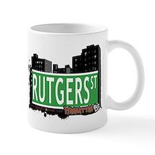 RUTGERS STREET, MANHATTAN, NYC Mug