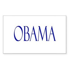 Obama Merchandise Rectangle Stickers