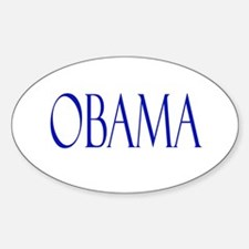 Obama Merchandise Oval Decal