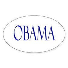 Obama Merchandise Oval Stickers
