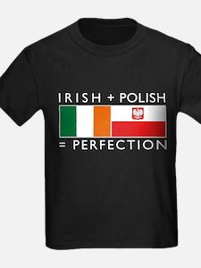 Irish Polish flags T