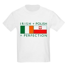 Irish Polish flags T-Shirt