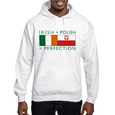 Irish Polish flags Hoodie