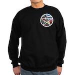 Pentacle Collage Sweatshirt (dark)