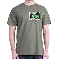 LENOX AVENUE, MANHATTAN, NYC T-Shirt