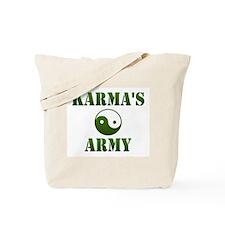 Karma's Army Tote Bag