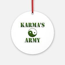 Karma's Army Ornament (Round)