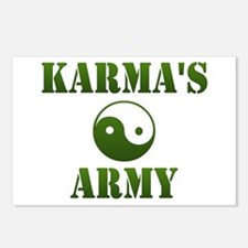 Karma's Army Postcards (Package of 8)